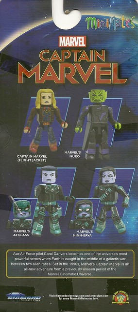 MiniMates - Captain Marvel Cardback
