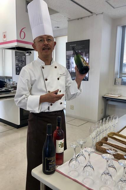 神戸 中央市場の料理教室 近藤亭のキッシュとワインの話に参加してきました(追記あり)