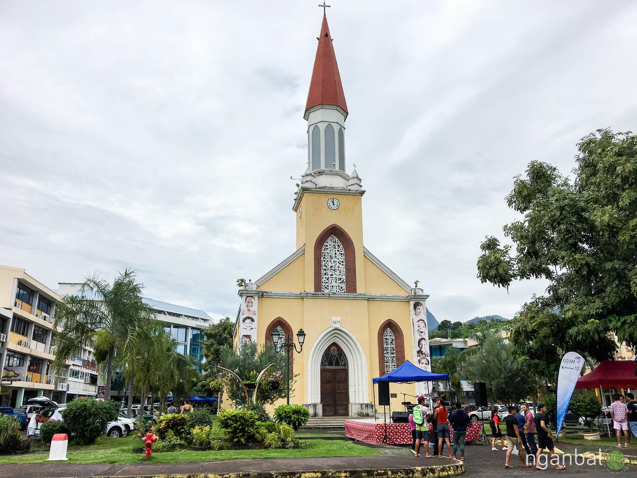 thủ đô Papeete của Tahiti