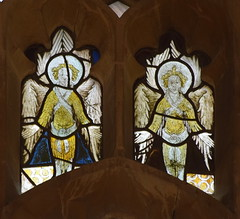 two East Anglian angels (15th Century)