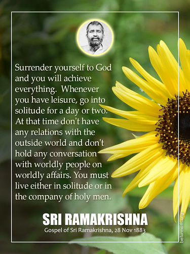 Sri Ramakrishna Quotation