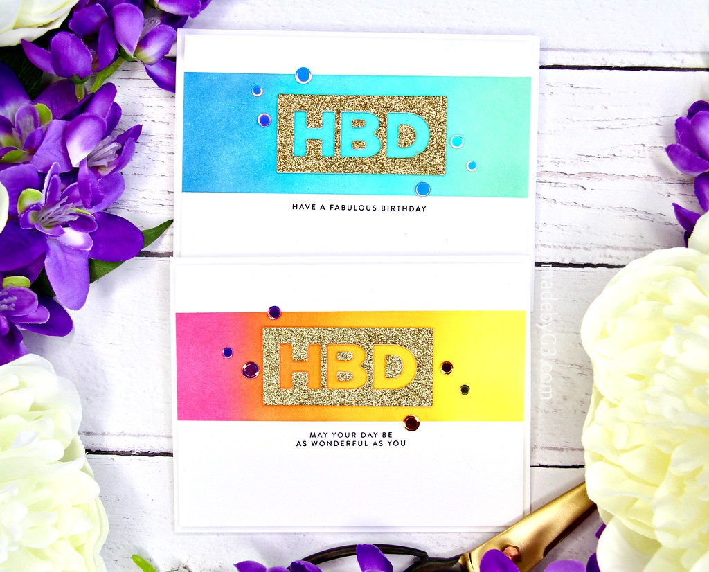 HBD card set