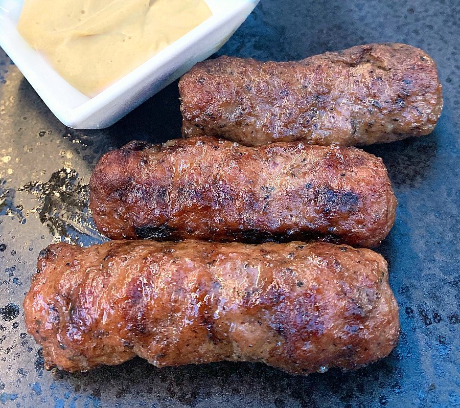 Romanian Dishes: Mici Sausage