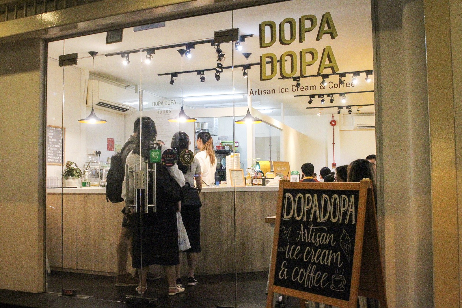 Ice Cream - dopadopaentrance