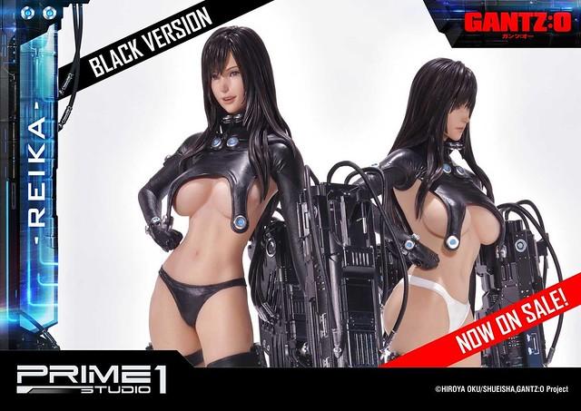 Prime 1 Studio《殺戮都市 GANTZ:O》Premium Masterline 下平玲花 WHITE Ver. 1/4比例雕像(プレミアムマスターライン レイカ ホワイトバージョン スタチュー)