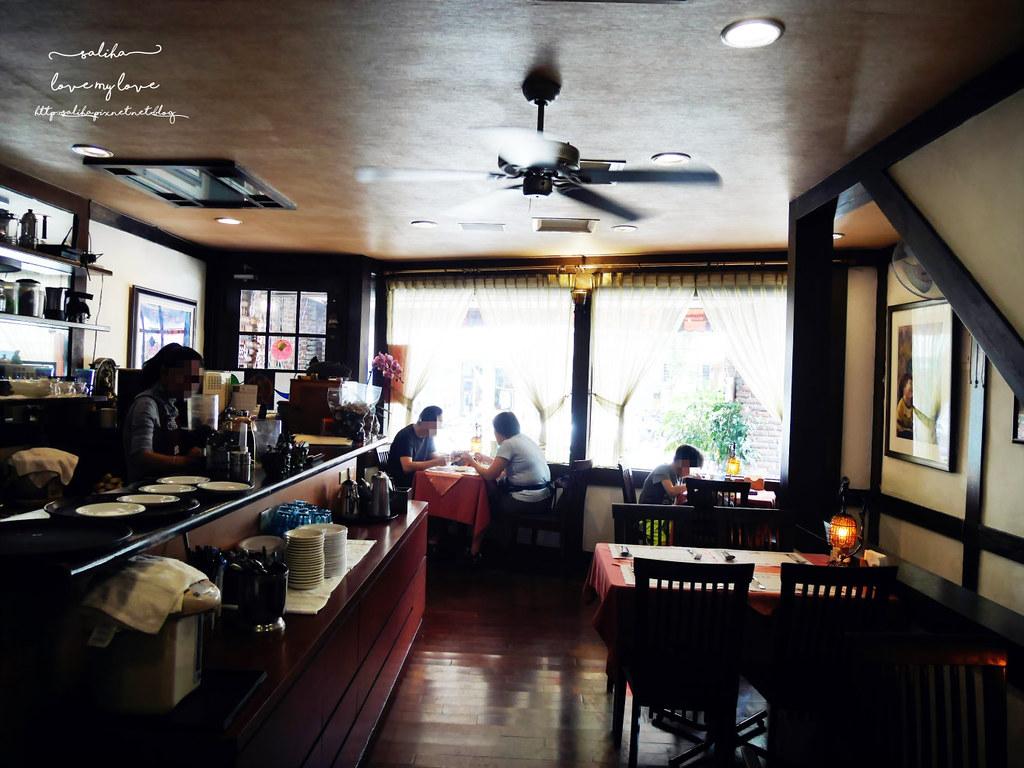 台北文山區木柵全素食蔬食西餐廳老店香屋咖啡食記 (7)