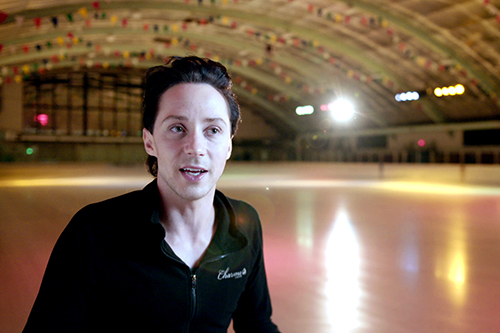 """Johnny Weir from the film """"The Ice King"""" directed by James Erskine"""