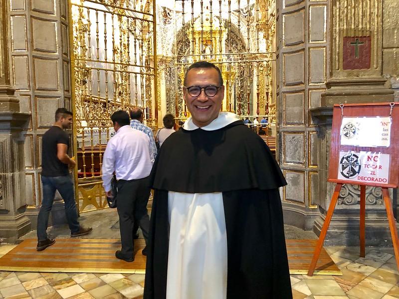 Carlos Mendoza pertenece a la Orden de los Predicadores
