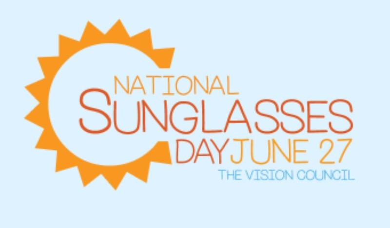 national sunglasses day 2019 logo