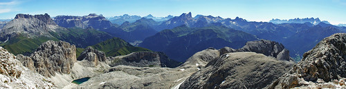 Dolomites from Catinaccio / Rosengarten