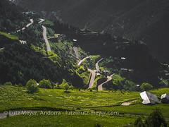 Andorra street cycling up to Coll de Ordino: Canillo parroquia, Vall d'Orient, Andorra