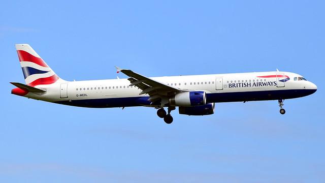 G-MEDL /// British Airways /// Airbus A321-231 /// EGLL (LHR)
