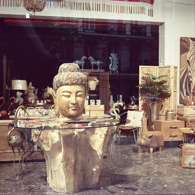 La Cabeza de Buda - Pentacon Six