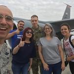 Refueling F-16s Midair