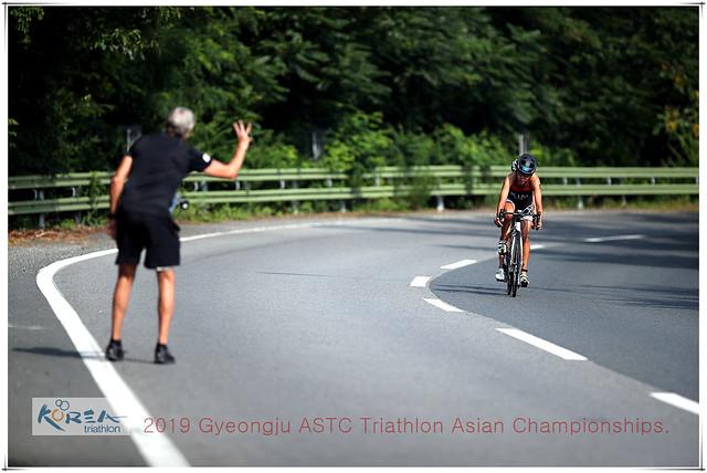 2019 경주 아시아 트라이애슬론 선수권대회(엘리트 여자부)