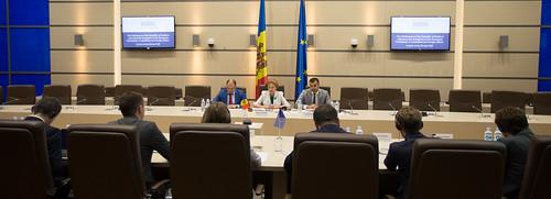 24.06.2019 Președintele Parlamentului, Zinaida Greceanîi, a avut o întrevedere cu delegația Comisiei pentru afaceri externe a Parlamentului European (AFET), condusă de către dna Heidi HAUTALA, Vicepreședintele Parlamentului European.