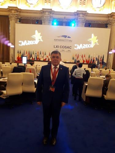 24.06.2019 Președintele Comisiei parlamentare politică externă și integrare europeană, Iurie Reniță la cea de-a 61-a Reuniune plenară COSAC