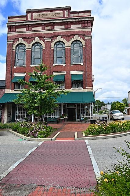 Odd Fellows Building in Greensburg, Indiana