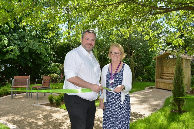 Refurbished Victoria Hospice Garden Unveiled