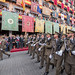 Desfile de los militares de la Academia de Infantería y la Guardia Civil en el Corpus de Toledo 2019