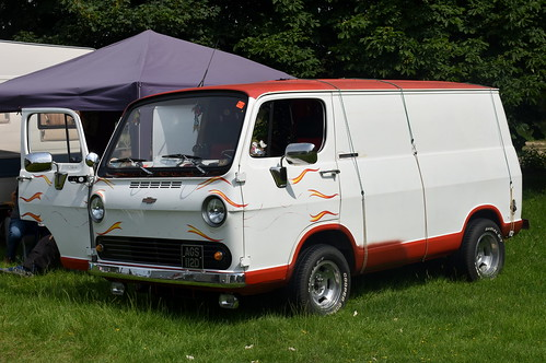 1966 Chevrolet custom van | by Zack's Motor Photos