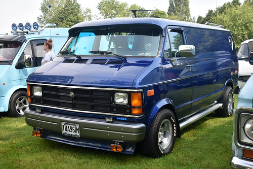 1990 Dodge B250 custom van 'Vanity II' | by Zack's Motor Photos
