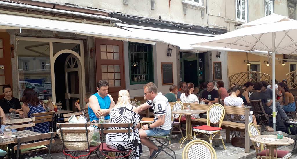 Terrasjes in Ljubljana | Mooistestedentrips.nl