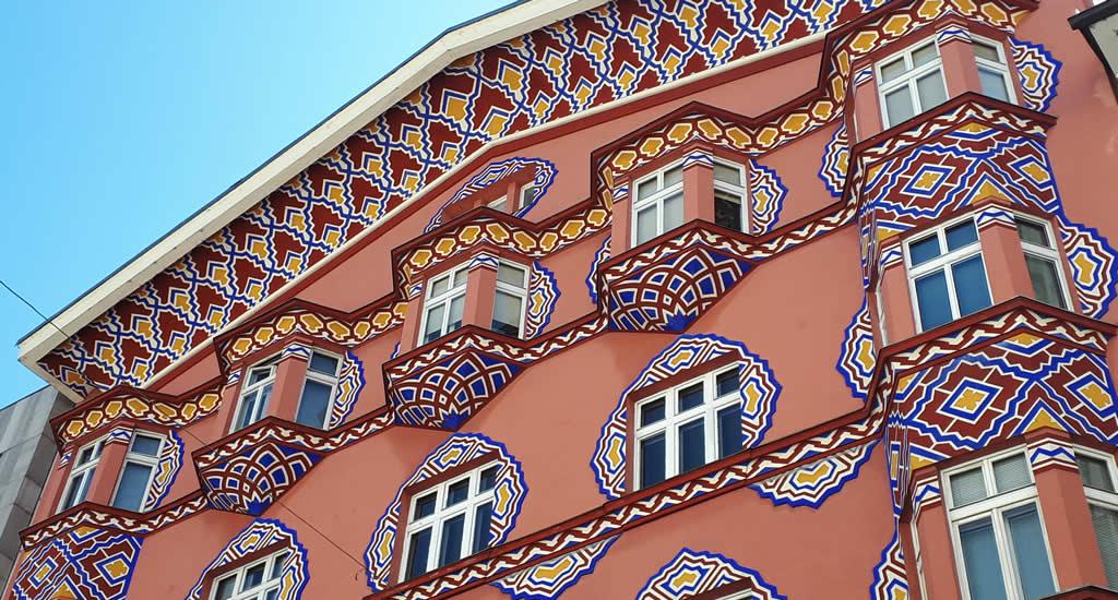 Art Nouveau in Ljubljana, Vurnik House | Mooistestedentrips.nl