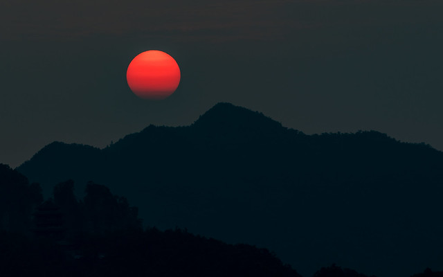 Sunrise at Zhangjiajie