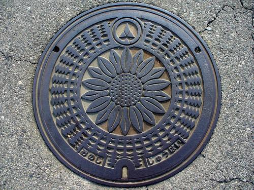 Ono Hyogo, manhole cover 2 (兵庫県小野市のマンホール2)