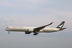 Airbus A350 B-LXC Cathay Pacific Airways
