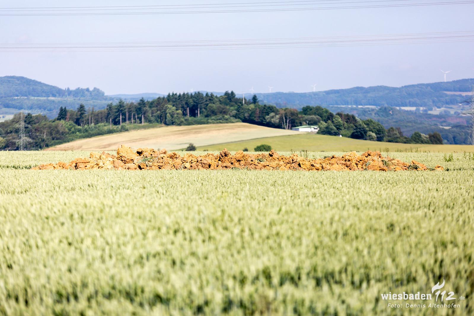 Bombendetonation Limburg-Ahlbach 24.06.19