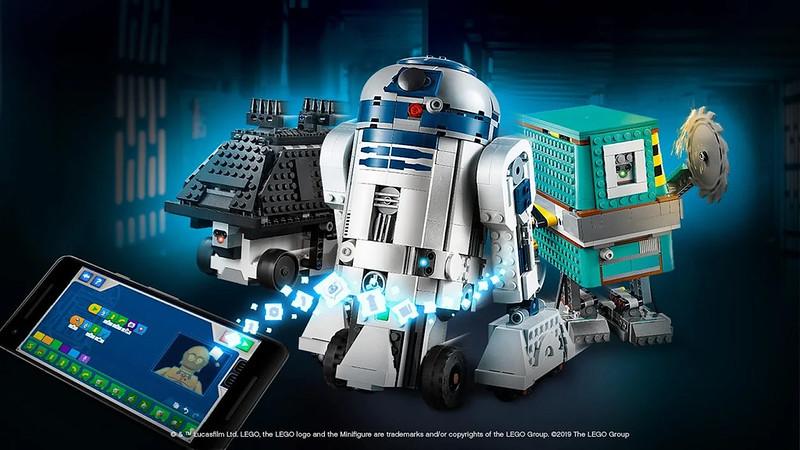 First Look at LEGO BOOST Star Wars App | BricksFanz