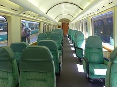 リゾート21「黒船電車」のロイヤルボックス(グリーン車扱い)