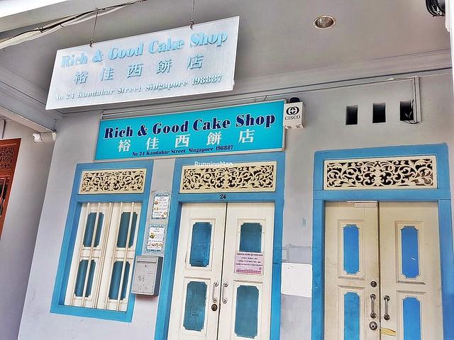 Rich & Good Cake Shop Exterior