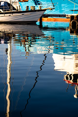 Harbour reflections