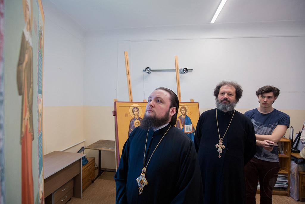 июня 2019, Смотр работ на иконописном отделении / 24 July 2019, Review of the Iconographic Faculty works