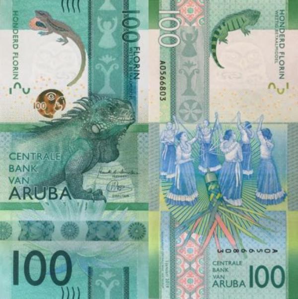 100 Florin Aruba 2019