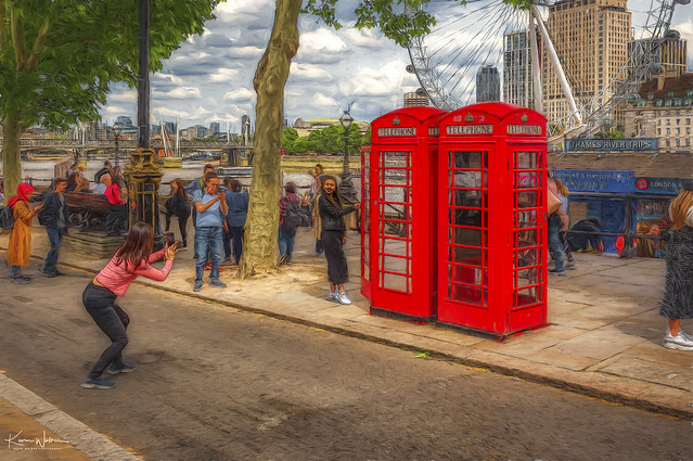 London red phone boxes