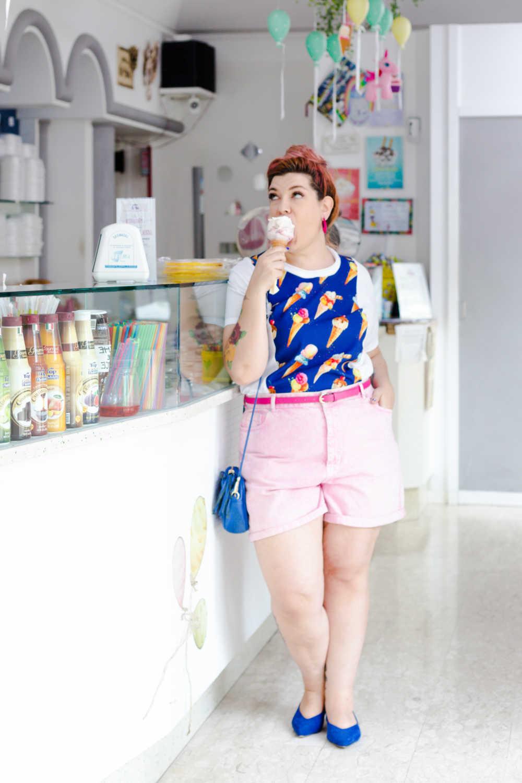 Outfit plus size tshirt divertente (7)