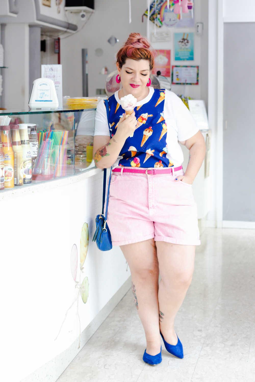 Outfit plus size tshirt divertente (5)
