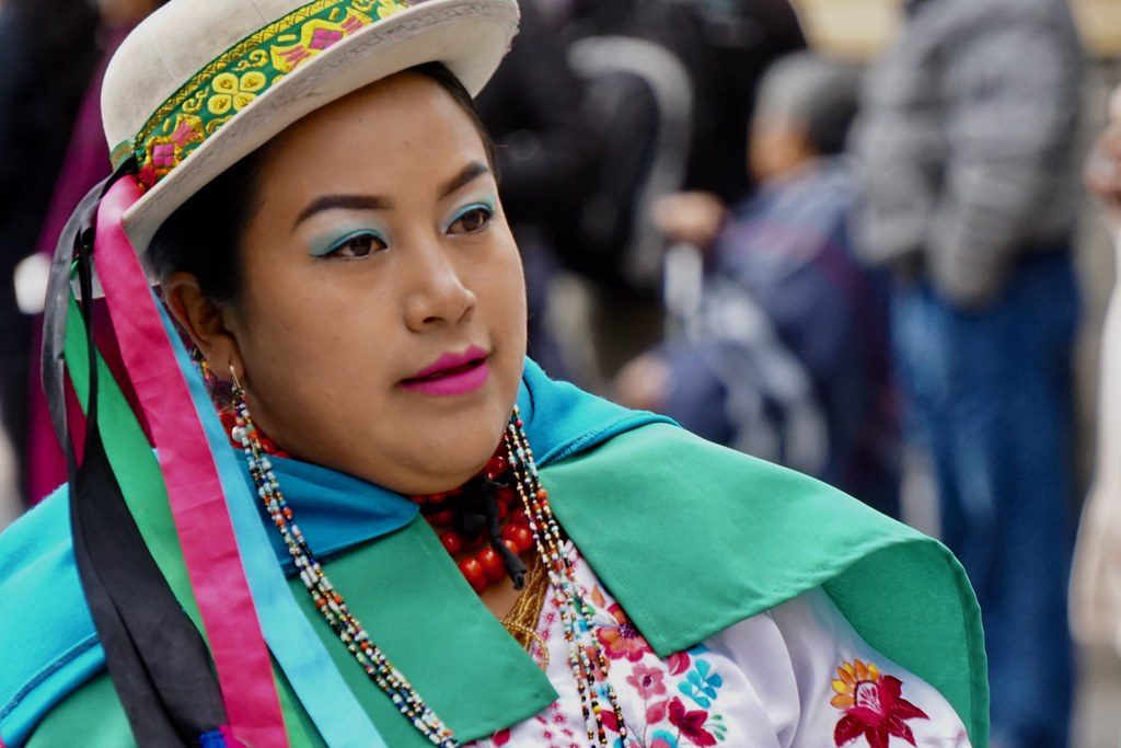 The Inti Raymi Sun Festival, Cuenca, Ecuador