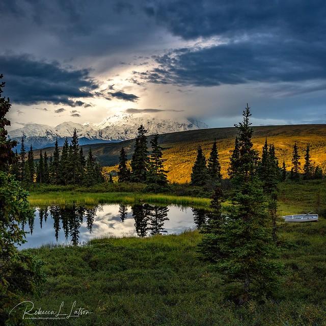 A Stormy Denali Sunrise [Explored June 2019 - Thank You!]
