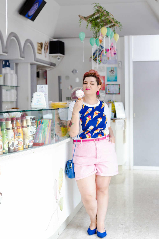 Outfit plus size tshirt divertente (8)