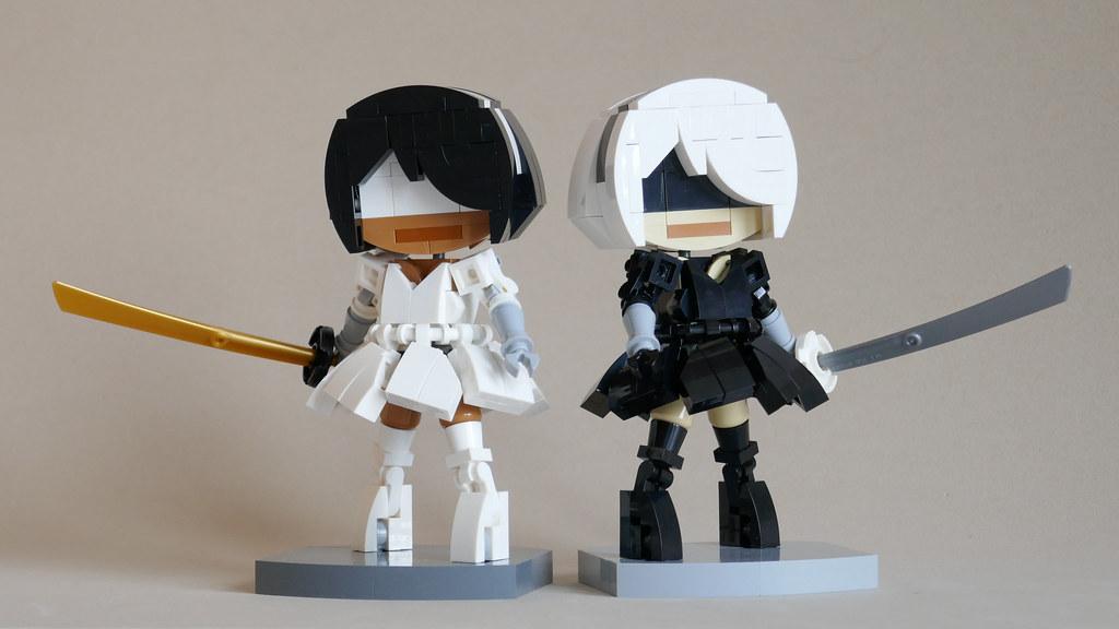 NieR: Automata (custom built Lego model)