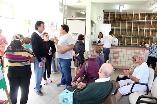Visita técnica para verificar as condições do Centro de Saúde Padre Eustáquio - Comissão de Saúde e Saneamento