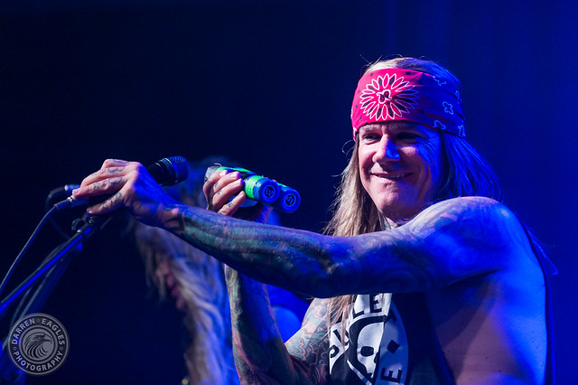 Steel Panther (w/ Striker) @ Mavricks Music Hall (Barrie, Ontario) on June 14, 2019