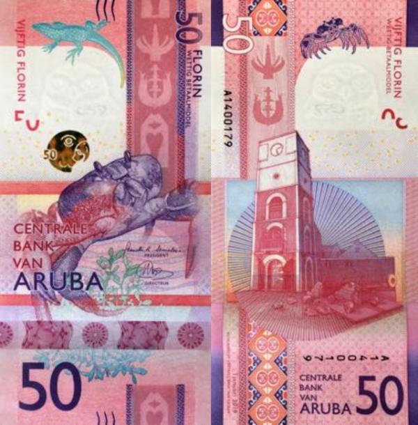 50 Florin Aruba 2019