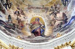 Rom, Santa Maria Maggiore, Cappella Paolina, Kuppelfresko von Ludovico Cigoli (fresco of the dome by Ludovico Cigoli)