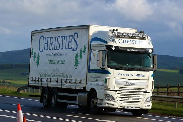 Christie's of Fochabers Daf XF SSC S111TKA